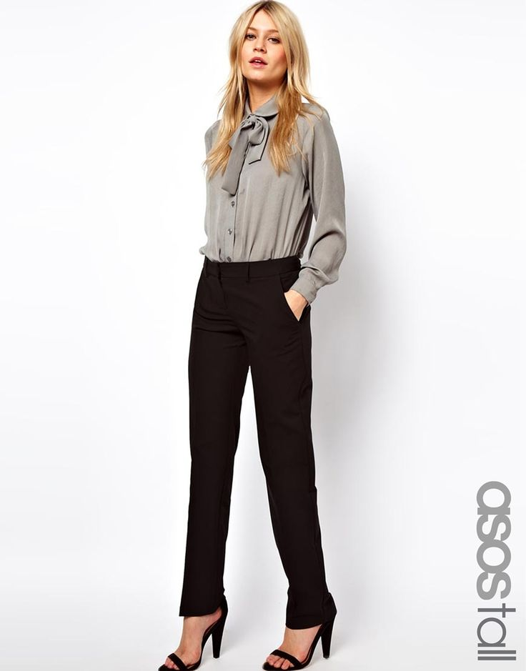 ASOS TALL Trousers In Straight Leg