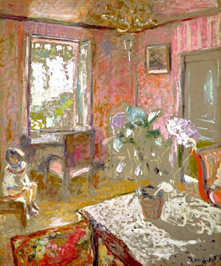 Edouard Vuillard - The Pink Bedroom
