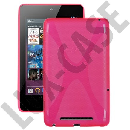 Google Nexus 7 Deksel (Hot Pink)