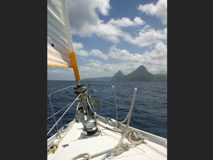 Saint-Vincent-et-les-Grenadines En route vers Sainte-Lucie