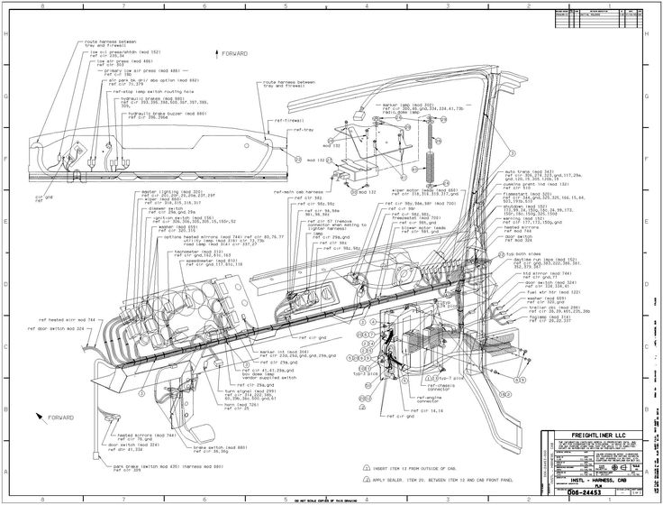 freightliner truck fl60 wiring diagram free picture wiring