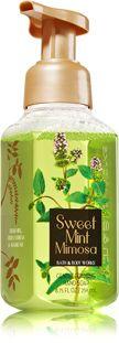 Sweet Mint Mimosa Gentle Foaming Hand Soap - Soap/Sanitizer - Bath & Body Works