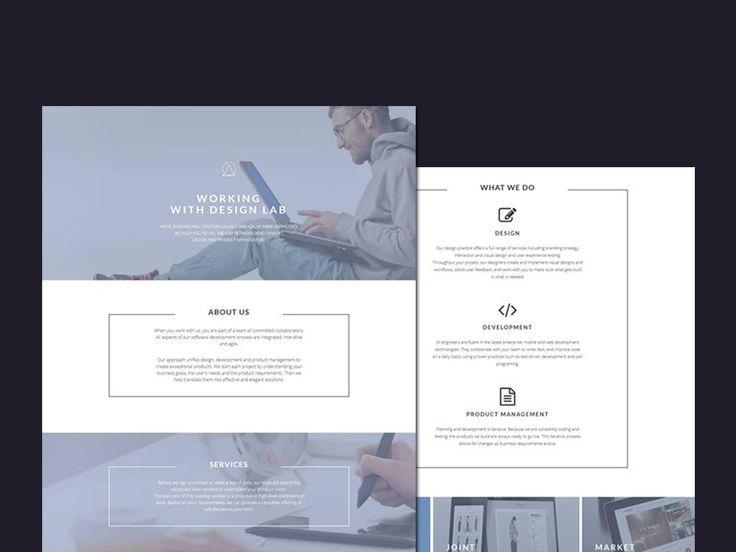 Design Lab : Simple Business HTML Template