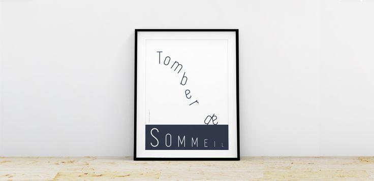 AFFICHE | SØVN TOMBER DE SOMMEIL