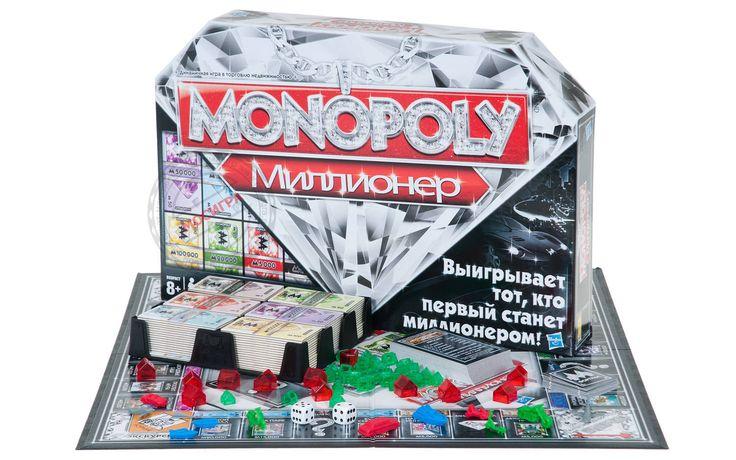Настольная игра Монополия Миллионер купить можно тут - Мосигра