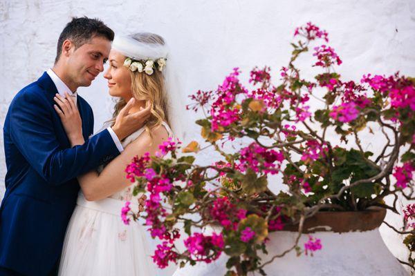 Ρομαντικος γαμος στη Σκιαθο | Ελενη & Γιαννης - Love4Weddings