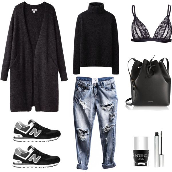 MINIMAL + CLASSIC: Mohair by fashionlandscape on Polyvore featuring Mode, Uniqlo, Mansur Gavriel, Nails Inc., Acne Studios and rms beauty