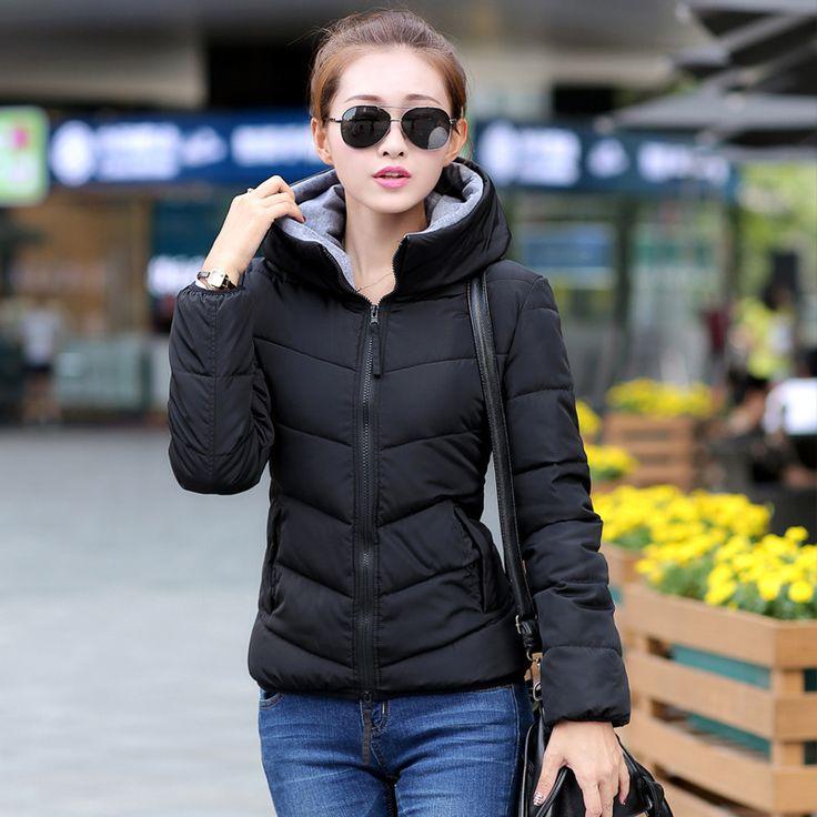 Snow wear wadded jacket female autumn and winter jacket women slim short cotton-padded jacket outerwear winter coat women