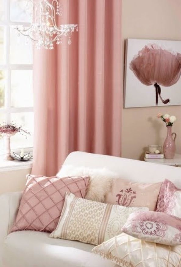 49 best Pink Living room images on Pinterest | Pink living rooms ...