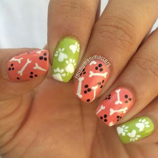 Manisha's FollowManimatters: Dogs nail art