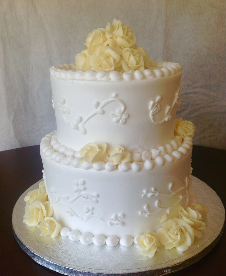 Buttercream Wedding Cakes Mn
