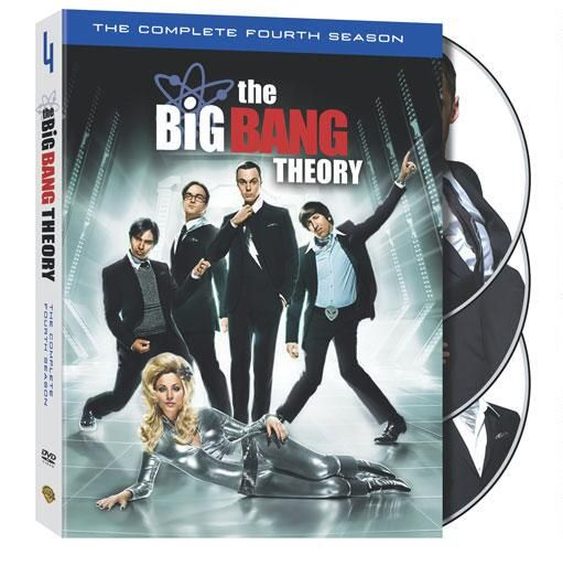 "The Big Bang Theory: The Complete Fourth Season from Warner Bros.: """"""Four seasons in, it is still laugh-out-loud… #Movies #Films #DVD Video"