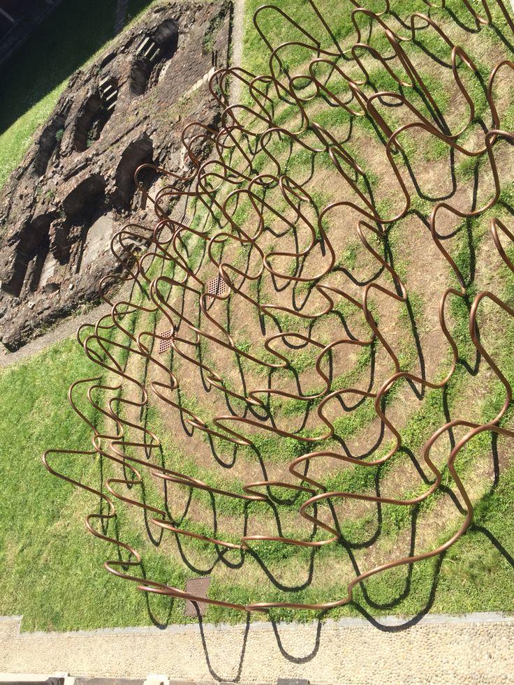 #copperlabyrinth #interni #fuorisalone #milano #worldexpo2015