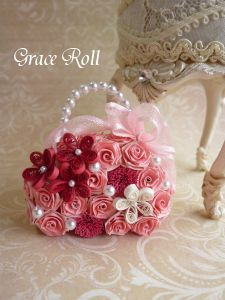Bag Bouquet バッグブーケ の画像|Grace Roll ~ペーパークイリング~
