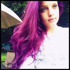 splat hair color before after | hair with splat lusty lavender more hair ideas autumn hair hair colors ...