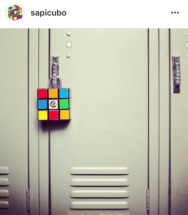 Rubik's Cube lock