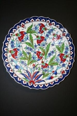 Turkish Ceramic Plate ༺JS༻