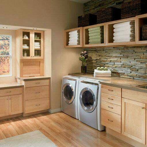 Waschküche Einrichten  Einer Aller Vorteile Des Waschraums Ist Die Unmenge  An Stauraum. Sehen Sie Sich Die Wunderbaren Praktischen Lösungen Im Raum  Unten An