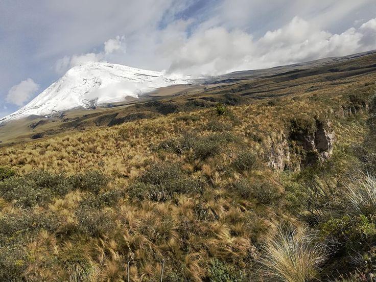 El Volcán Cotopaxi, Ecuador