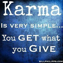 Karma, defined