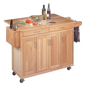 33 best images about kitchen island on pinterest craftsman boos butcher block and gray cabinets - Kitchen island target ...