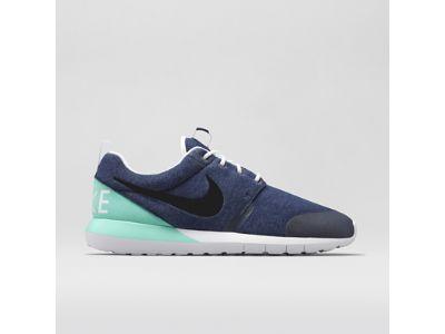 Nike Roshe Run NM W Men's Shoe - Obsidian/Bleached Turquoise/Black - style