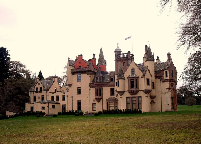 Aldourie Castle on Loch Ness Inverness Scotland by conner395, via Flickr