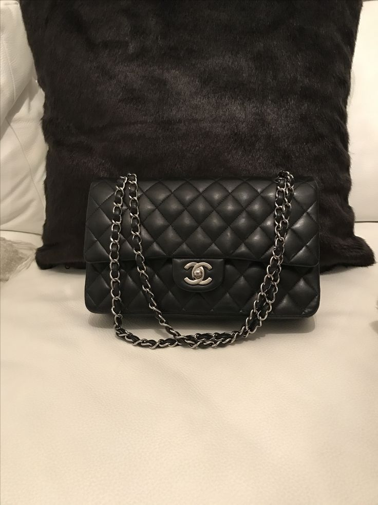 My new baby. Chanel Classic double flap bag.