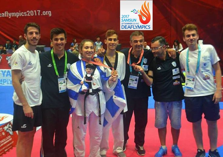 Tο Ελληνικό Ταεκβοντό ψηλά στο βάθρο στους 23ους Θερινούς Ολυμπιακούς Αγώνες (Deaflympics)