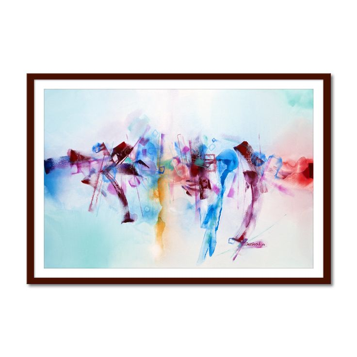 Original painting Printable Art Modern par ArtooshPrintables