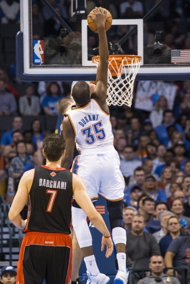 NBA 2013: Oklahoma City Thunder maul Toronto Raptors 108-88 | TheSportsNext.com