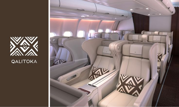 Interior of Fijian Airways, redesigned by FutureBrand, Australia