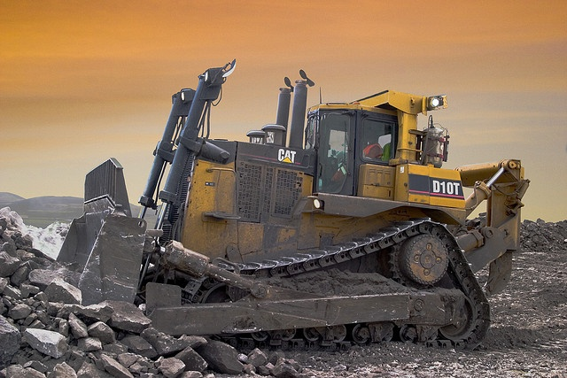 Mining Toys For Boys : Caterpillar d t bulldozer by david wylie via flickr