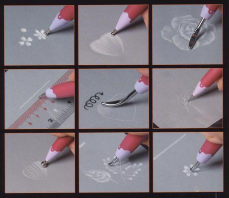 Pergamano Book - ART OF EMBOSSING STEP-BY-STEP Kannikar Sukseree
