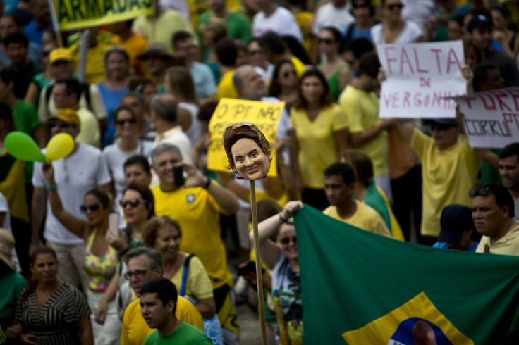 Rousseff Approval Rating Plummets After Mass Brazil Protest.