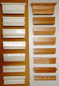 Timber Pelmet Styles