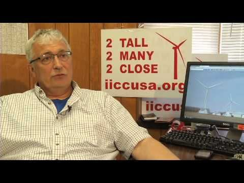 Kevon Martis, the director of the Interstate Informed Citizens Coalition speaks to NBC25's Brett Dickie about the problems he sees with wind turbines.