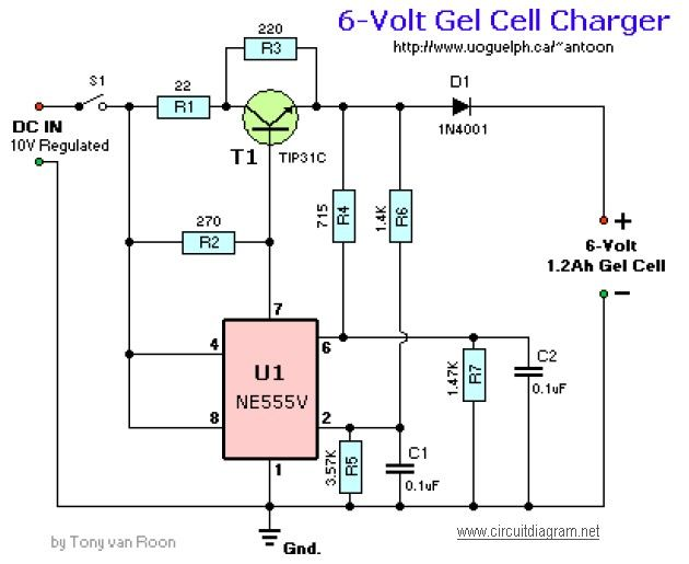 6v Battery Charger Circuit Diagram 6v Gel Cell Battery Charger 6v Battery Charger Circuit Diagram Circuit Diagram Battery Charger Circuit Circuit