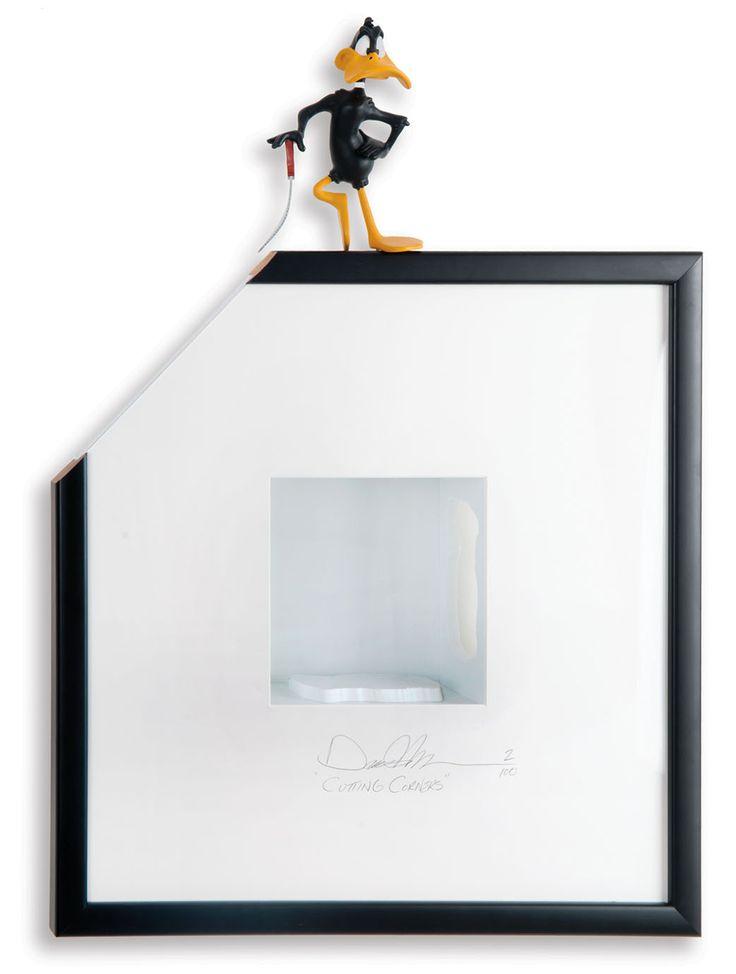 Cutting corners #2 - 51 x 69 x 19 cm - Shadow box