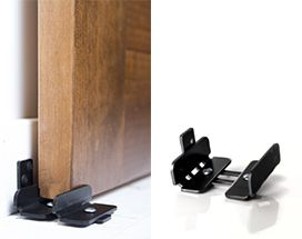 Wall Mount Adjustable U Channel Guide For Barn Door
