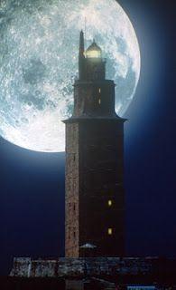 Torre de Hércules, A Coruña; Galicia, España.