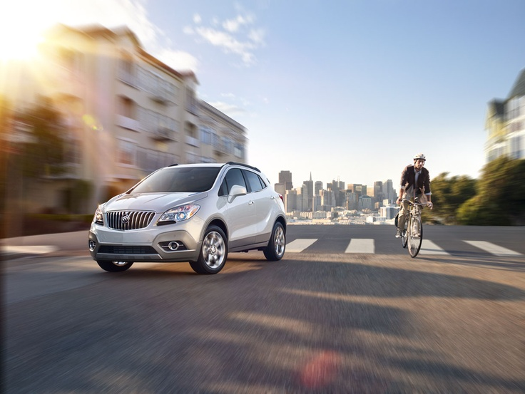 Take on the hills of San Francisco and follow the @Buick Encore.