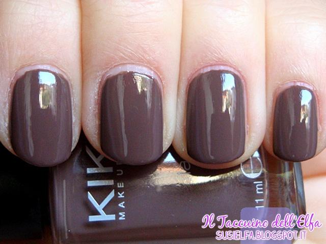 Nail Lacquer 321 Tortora Kiko