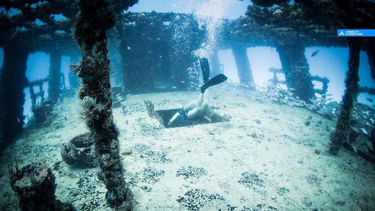 """Погружаемся в трюмы на вреке C-58 USS Harlequin """"Генерал Анайя"""", Канкун, Мексика"""