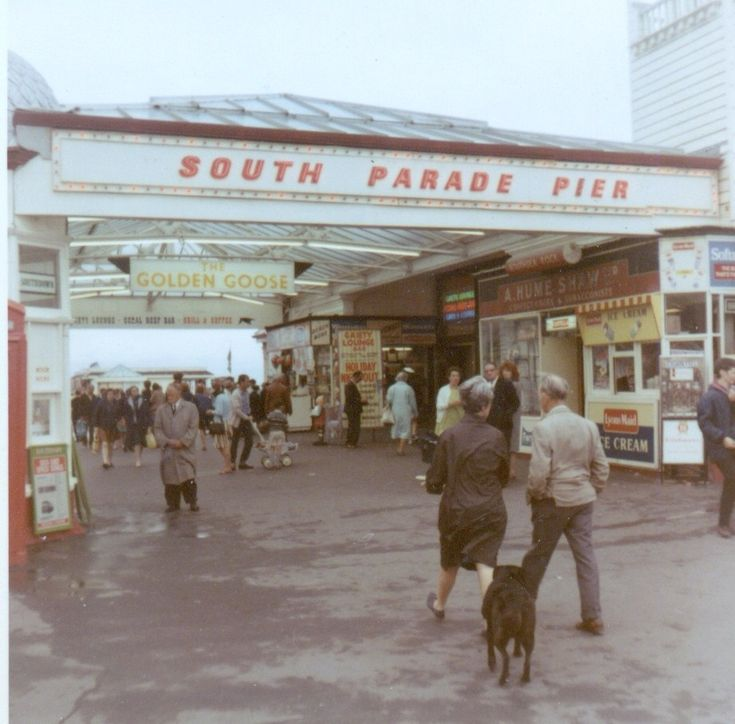 South Parade Pier in Southsea, Portsmouth, 1967.