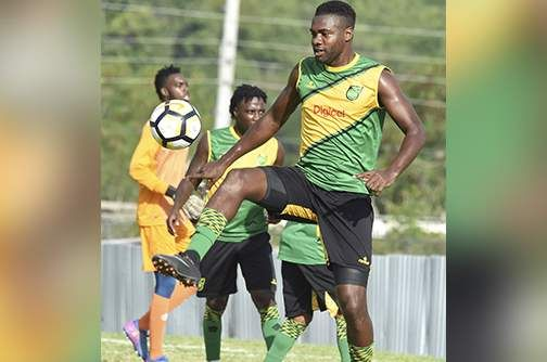 Harriott, Richie relishing stint with Reggae Boyz - Jamaica Observer