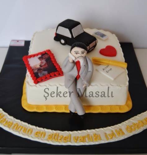 Özel tasarım pasta.