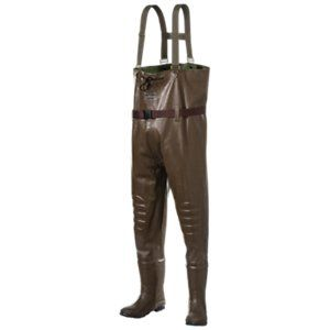RedHead Bone-Dry Rubber Boot-Foot Chest Waders - Men 12