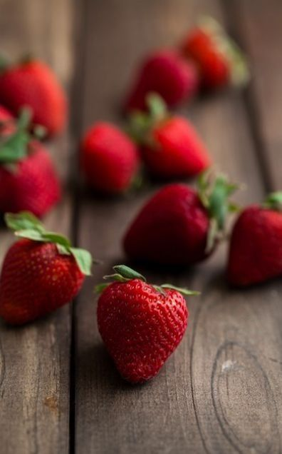 Strawberries in the summer.  What's your favorite way to eat them?