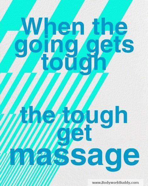 Get a massage!